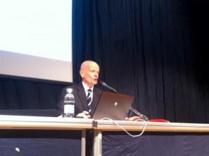 Luca Granata durante il suo intervento a Interpera