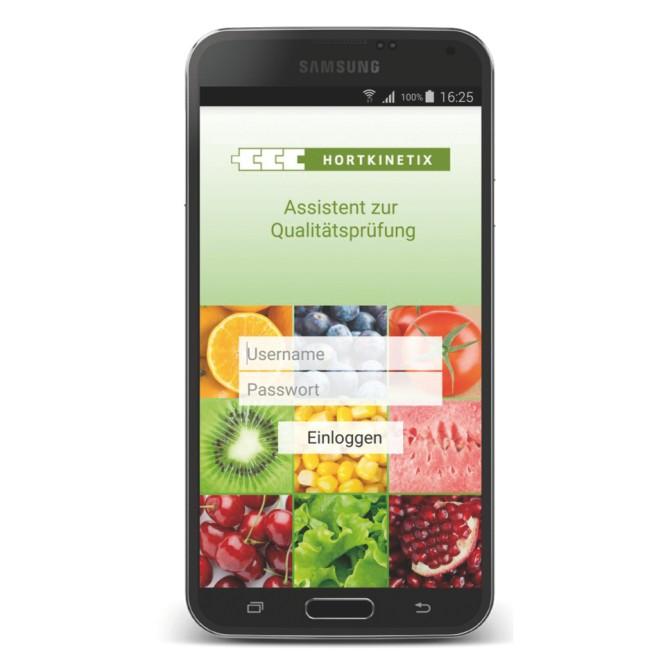 QualyCheck – HortKinetix, Germania. Un'applicazione che , durante il controllo qualità , genera in automatico un rapporto e lo spedisce via smartphone
