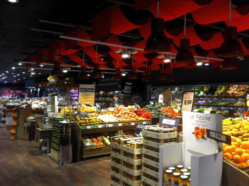 Supermercato U2 di Meda (MB) - Reparto ortofrutta