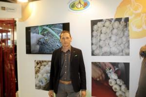 Massimo Tovo, presidente del Consorzio di Tutela dell'Aglio Bianco Polesano Dop