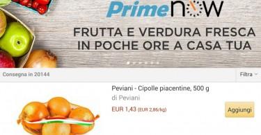 Amazon frutta e verdura