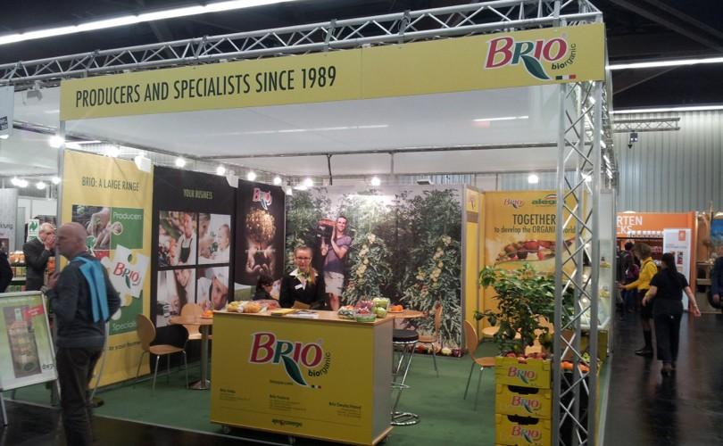 Stand Brio al Biofach 2016