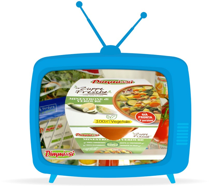 DimmidiSì Le Zuppe Fresche Spot Tv