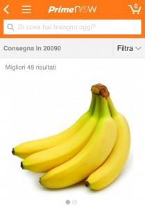 Amazon Prime Now - Disponibili 48 referenze di frutta e verdura nei comuni dell'hinterland milanese, aggiunti recentemente, con Cap 20090