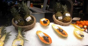 Ananas e papaya Orsero