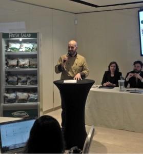 Dario Ferri, chef che ha studiato le ricette delle 6 insalate miste della Linea Benessere