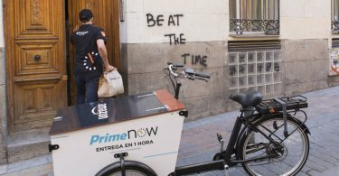 AmazonPrimeNow_Madrid_bicicletta