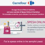 Carrefour. Parte anche il servizio Spesa online
