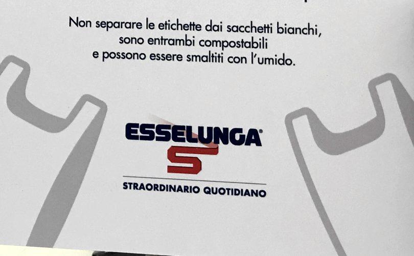 Compostatori, etichette sacchetti bio siano compostabili