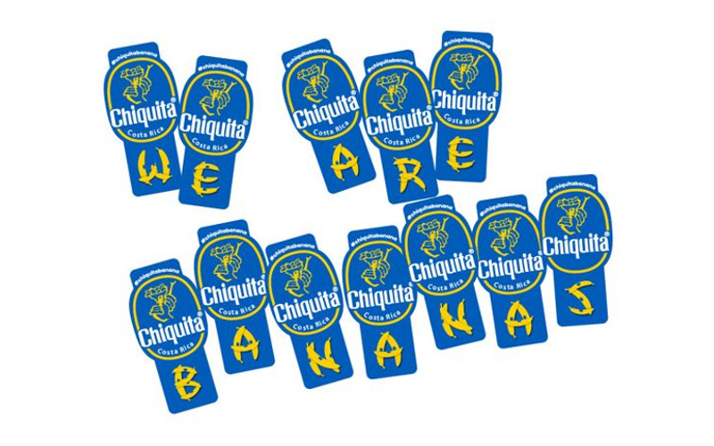 chiquita alphabet stickers