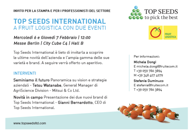 TopSeedsInternatinal_FruitLogistica2019_Invito