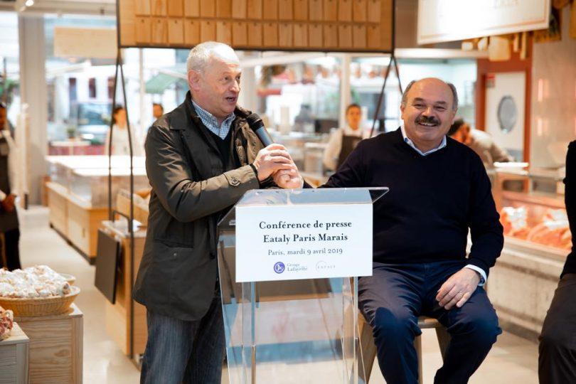 Sergio Fessia e Oscar Farinetti