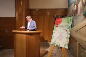 Gianluigi Zaffaroni,presidente delSindacato Provinciale Dettaglianti Ortofrutticoli di Milano