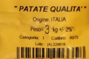 EtichettaPatate