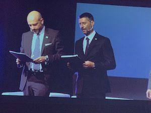 Massimo Lucentini, direttore generale di Todis e Gianni Capobianco, Presidente di Iges