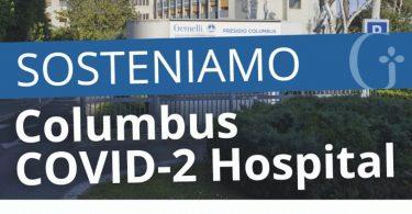 _donazioni columbus covid-2 hospital da gruppo Dico