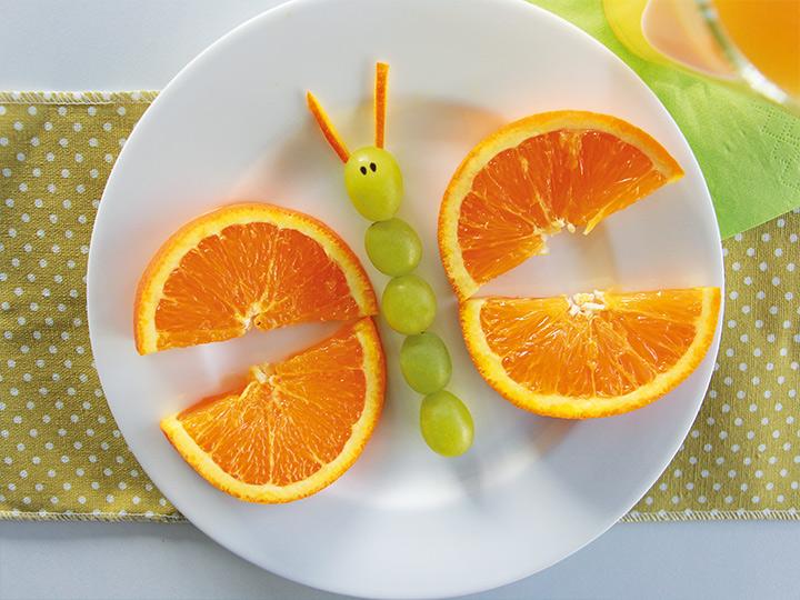 snack frutta divertenti