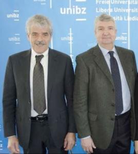 Ennio Magnani , presidente Assomela e Georg Koessler, vicepresidente