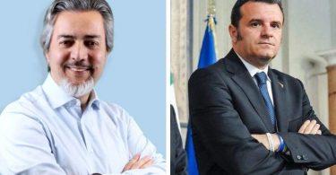 Francesco Battistoni e Gian Marco Centinaio