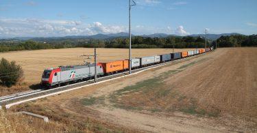 Trasporto merci treno